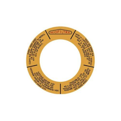 autogarage73 adesivo citroen filtro aria
